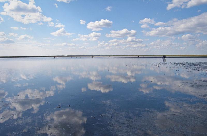 Медвежье озеро Курганской области. Сайт.