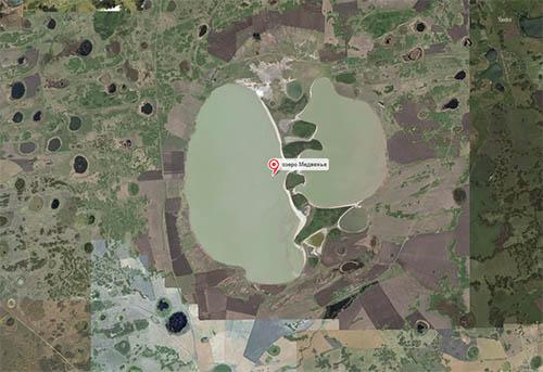 Озеро Медвежье Курганской области