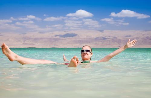 купание в солёной воде