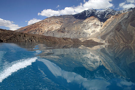 Лечебные грязи озера Танапчи Таджикистан